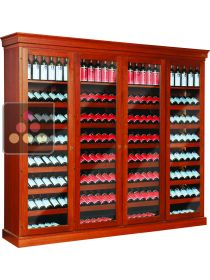 Triple temperature wine cabinet for storage and/or service  ELLEMME