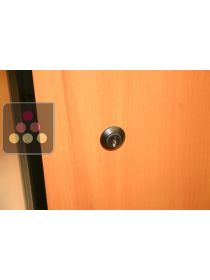 Replacement lock for wine cabinet with solid door - coloured ARTEVINO