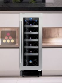 Single temperature built in wine cabinet for service or storage LE CHAI