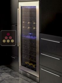 Dual temperature wine service and/or storage cabinet - Can be fitted LE CHAI