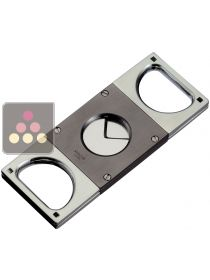 Premium double blade cigar cutter SAROME