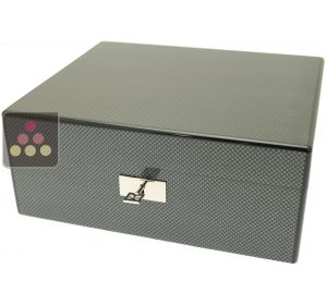Cigar humidor with carbon finishing Ma Cave à Cigares