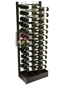 Freestanding Visiostyle metal support for 72 bottles VISIORACK