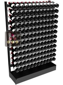 Freestanding Visiostyle metal support for 144 bottles VISIORACK