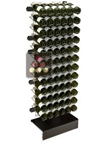 Extension unit for Visiostyle metal support for 72 bottles VISIORACK