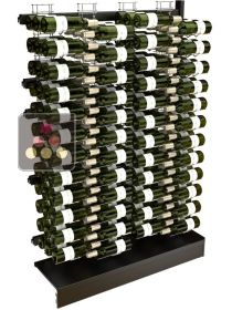 Extension unit for Visiostyle metal support for 144 bottles VISIORACK