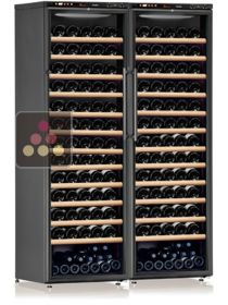 Combination of 2 Single temperature wine service or storage cabinets CALICE