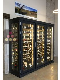 Single temperature air conditioned refrigerated display cabinet - left side Ma Cave à Vin
