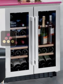 Multipurpose Dual temperature built-in wine cabinet AVINTAGE