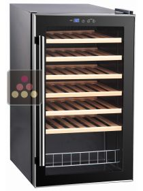 Single temperature wine service cabinet CAVISS