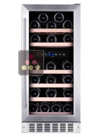 Dual temperature built in wine cabinet for storage and/or service TEMPTECH