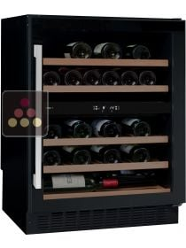 Dual temperature wine cabinet for storage and/or service AVINTAGE