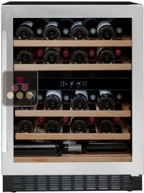 Dual temperature built-in wine cabinet for storage and/or service AVINTAGE