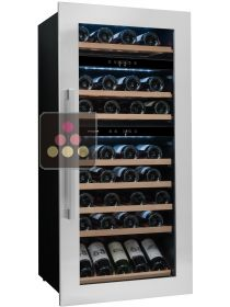 Triple temperature built in wine storage and service cabinet AVINTAGE