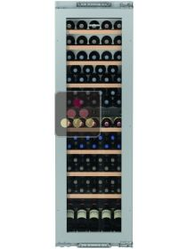 Multi-purpose built in wine cabinet for the storage and service of wine 