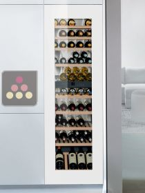 Multi-purpose wine cabinet for the storage and service of wine - can be fitted