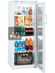 Freestanding fridge with glass door - 320L LIEBHERR