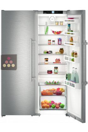 Combined Fridge Freezer Ice Maker Biofresh Zone Liebherr Aci
