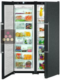 Combined fridge, freezer, ice maker & Biofresh zone LIEBHERR