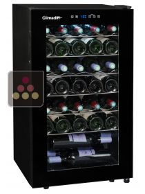Single temperature wine service cabinet CLIMADIFF