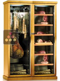 Combination of 2 single temperature delicatessen cabinets CALICE