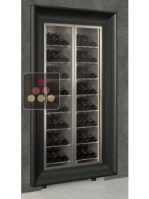 Built-in multi-purpose wine cabinet for storage or service CALICE