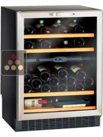 Dual temperature built in under counter wine storage and service cabinet CLIMADIFF
