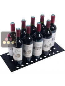 Perforated metallic stand for vertical bottle storage CLIMADIFF