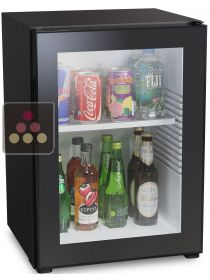 Mini-bar fridge with full glass door - 40L DOMETIC