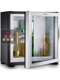Built in mini-bar with glass door - 20L - Right hinged DOMETIC