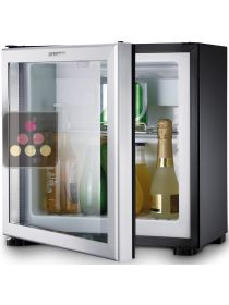 Built in mini-bar with glass door - 20L - left hinged DOMETIC