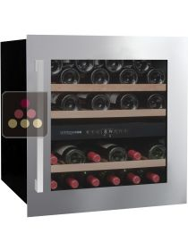 Dual temperature built in wine service cabinet AVINTAGE