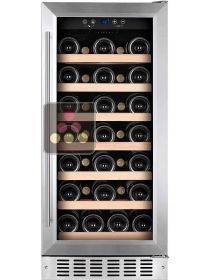 Single temperature built in wine cabinet for storage and/or service TEMPTECH