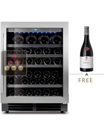 Mono-temperature Wine Cabinet for preservation or service - can be built-in LE CHAI