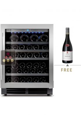 Mono-temperature Wine Cabinet for preservation or service - can be built-in