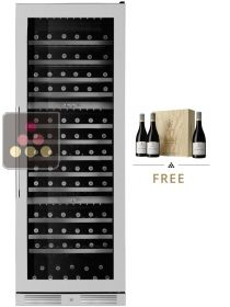 Triple temperature wine storage and service cabinets LE CHAI