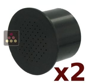 Set of 2 active carbon filters for Climadiff wine cabinets