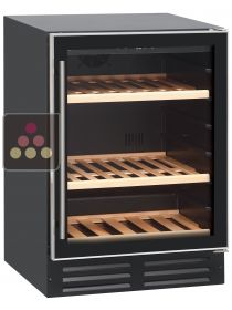 Single temperature built-in wine service cabinet CAVISS