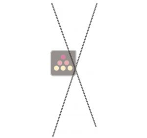 Cross bars for Atelier du Vin rack Mass, Standard or Smart L'ATELIER du VIN