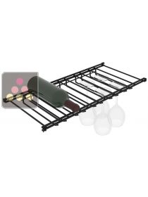 Glass Rack for L'Atelier Vin Smart cabinet, standard or solid L'ATELIER du VIN