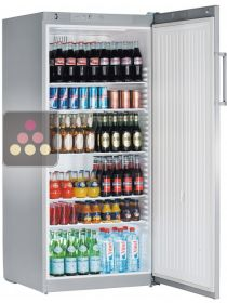 Freestanding fridge with solid door - 554L LIEBHERR