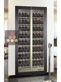 Built-in multi-purpose wine cabinet for storage or service - 112 bottles CALICE DESIGN