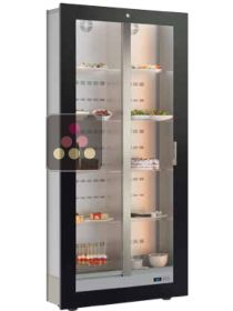 Built-in cabinet for fresh products and dishes storage - Reduced depth CALICE DESIGN
