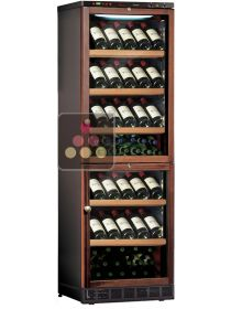 Combined 2 Single temperature built-in wine service or storage cabinets -  Special Version  CALICE