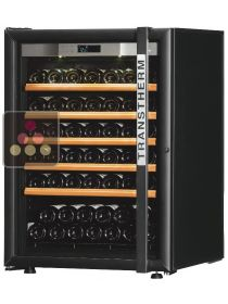 Single temperature wine ageing and service cabinet - Left side hinges TRANSTHERM