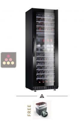 Dual temperature wine cabinet for storage and/or service DOMETIC ...