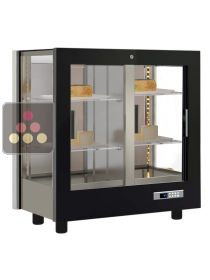 3-sided refrigerated display cabinet for cheese CALICE DESIGN