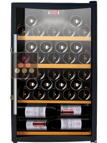 Single temperature wine service or storage cabinet CAVISS