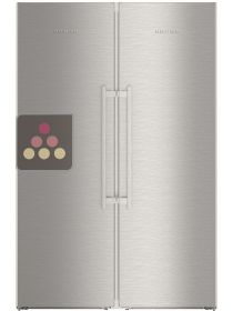 Combined fridge, freezer & Biofresh zone LIEBHERR