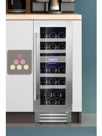 Built-in Dual temperature wine service cabinet - 78cm Door LE CHAI